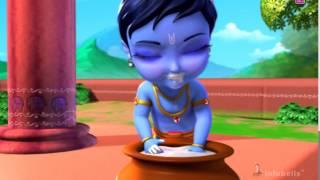 Little Krishna - Telugu Rhymes for kids
