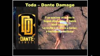 Dante Damage - Toda Letra [By: Lyric's YArt's]