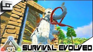 ARK: Survival Evolved - ALPHA MAMMOTH TAMED! S2E5 ( Modded Ark Extinction Core )