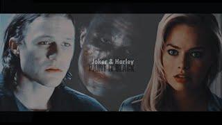 joker & harley | paint it black