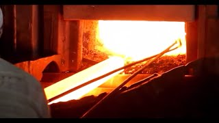 Steel rolling mill process & operation, manufacturing of TMT bars