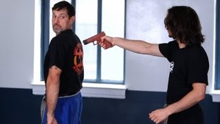 How to Defend against Gun from the Rear | Krav Maga Defense