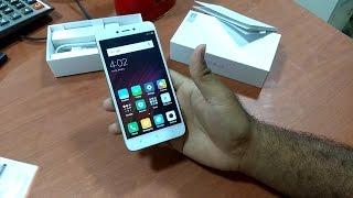 Hindi/Urdo. Xiaomi Redmi 4 X Unboxing Gold 16GB Storage 2GB Ram