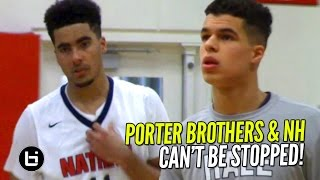 Michael Porter Jr & Jontay Porter CAN