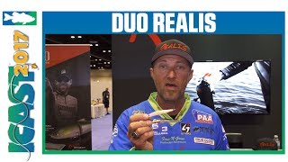 New DUO Realis Spinbait Colors w. Chris Jackson | ICAST 2017