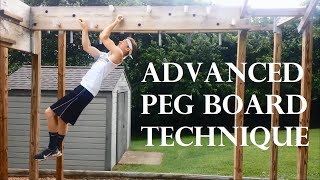 Ninja Warrior: Hardest Technique EVER?!? Advanced Peg Board Technique & Training