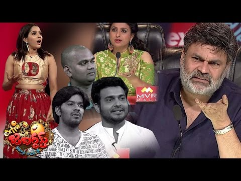 Nagababu & Roja Fires on Sudigali Sudheer Team Extra Jabardasth 31st March 2017 Promo