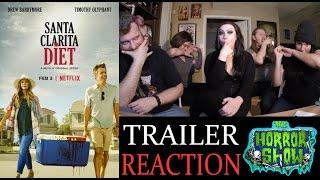 """Santa Clarita Diet"" Netflix Zombie TV Show Trailer Reaction - The Horror Show"