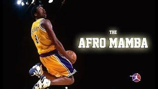 KOBE BRYANT THE AFRO MAMBA