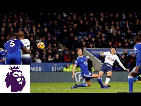 Xxx Mp4 Heung Min Son Puts Spurs Ahead With A Perfect Strike V Leicester City Premier League NBC Sports 3gp Sex