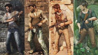 Uncharted 4 VS Uncharted Saga | Evolucion Grafica
