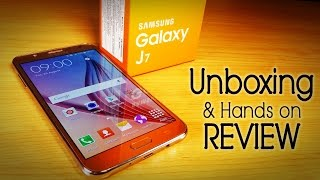 Samsung GALAXY J7 Unboxing & Hands on Review- Best Mid-range?