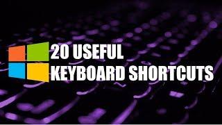 20 Useful Keyboard Shortcuts You Need to Know! (Windows)