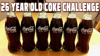 Drinking 26 Year Old Coca Cola - 6 Pack Challenge | FreakEating vs the World 115