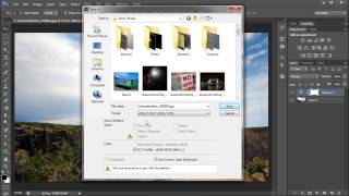 60 Second Photoshop Tutorial : Save Images (JPEG, PNG, BMP, TIFF, etc) -HD-