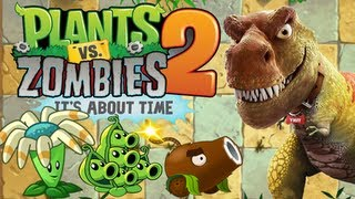Plants vs. Zombies 2 - Jurassic Plant!