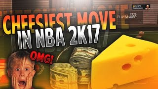 OMG CHEESIEST OVERPOWERED MOVE IN NBA 2K17! • CRAZY DRIBBLE GLITCH!   NEW UNGUARDABLE DRIBBLE MOVE!!