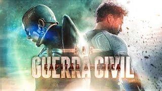 Rap do Capitão América: Guerra Civil | 7 Minutoz