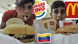 MCDONALDS VS BURGER KING EN VENEZUELA - Arabezolano