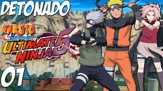 Naruto Shippuden Ultimate Ninja 5 Detonado #1 PT-BR
