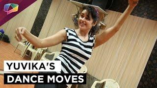 Yuvika Choudhary rehearses for &TV's Holi Special