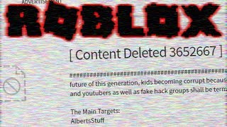 NEW ROBLOX HACKER GROUP (they hacked me...)
