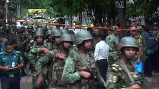 Raw: Dozens Killed In Dhaka Restaurant Attack
