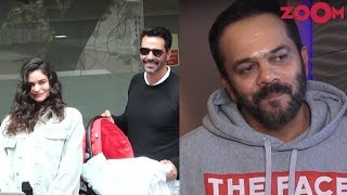 Arjun Rampal and Gabriella head back home with their baby   Rohit Shetty on Golmaal franchise