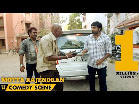 Naanum Rowdy Dhaan - Motta Rajendran Comedy Scene | Vijay Sethupathi, Nayanthara, Vignesh Shivan