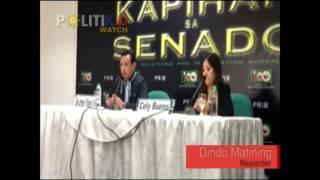 Duterte, Aguirre minamaniobra ang justice system -Trillanes
