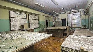 Found STILL semi-powered underground soviet command post.
