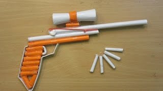 How to Make a Paper Sniper Rifle that Shoots - Easy Paper Gun Tutorials