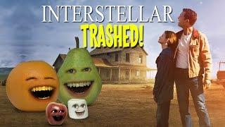 Annoying Orange - INTERSTELLAR TRAILER Trashed!