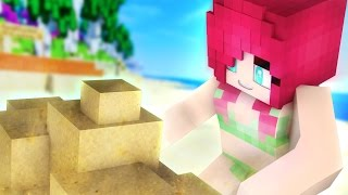 Friendship is Sandcastles!   Love~Love Paradise MyStreet [S2:Ep.4 Minecraft Roleplay]