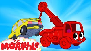 My Red Tow Truck + Super Morphle Rewind --  My Magic Pet Morphle Episode #21