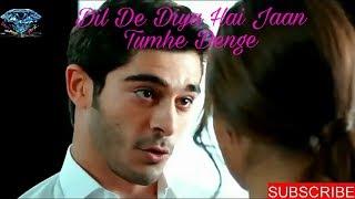 Dil de Diya Hai Jaan Tumhe denge  Hayat and Murat  Most Popular Romantic song