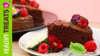 Simple Chocolate Cake - Sugar free chocolate cake by Natvia