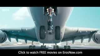 Hrithik's Brave Attempt to save Aeroplane Crash  - Terrific Scene from Krrish 3