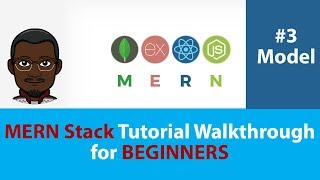 (2018) MERN Stack Tutorial Walkthrough | Build a MERN App From Scratch for Beginners | #3 the Model
