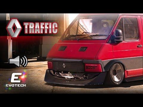 Renault Traffic VIRTUAL TUNING Photoshop Render Evo5 ft. Chemistry RAW RV