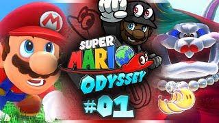 Super Mario Odyssey w/ @PKSparkxx! (+ GIVEAWAY!) - #01 |