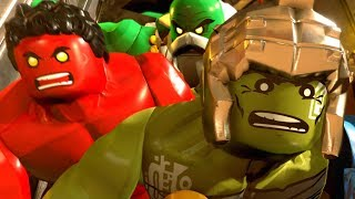 LEGO Marvel Super Heroes 2 - All Cutscenes Full Movie HD