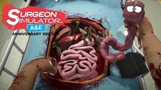 Surgeon Simulator A&E: Anniversary Edition - Found A New Pet!!!