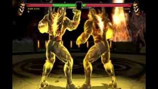 Mortal Kombat vs DC Universe Dark Kahn Gameplay PS3
