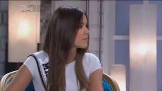 Miss Universo Paulina Vega y Miss Colombia Ariadna Gutierrez en entrevista para RCN