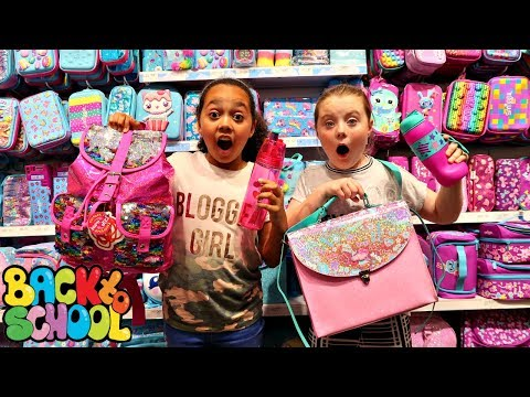 Xxx Mp4 BACK TO SCHOOL SHOPPING Smiggle School Supplies Clothes Claire S Haul Toys AndMe 3gp Sex