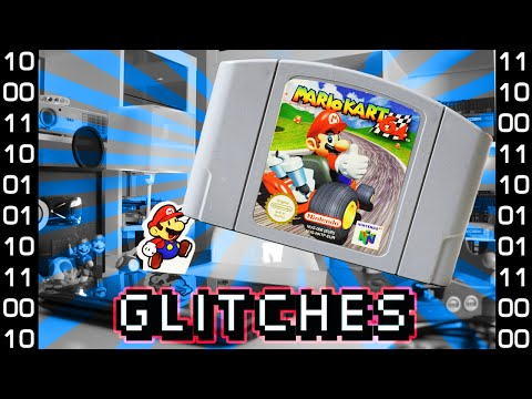 Mario Kart 64 Glitches Cartridge Tilting and Glitches