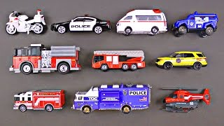 Best Toddler Learning Emergency Vehicles for Kids #1 Police Cars Fire Trucks Hot Wheels Cars