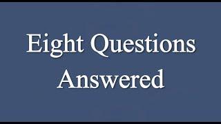 Eight Questions Answered | Ismaili Muslims Beliefs and Practices | Shah Karim al-Husayni Aga Khan