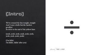 dvsn - The Line (Lyrics)